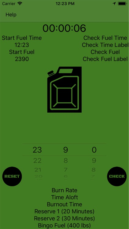 Mil Fuel Check
