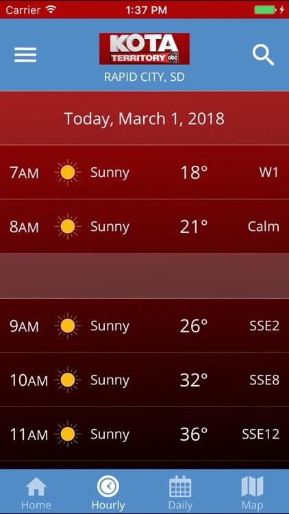 KOTA Mobile Weather screenshot-3