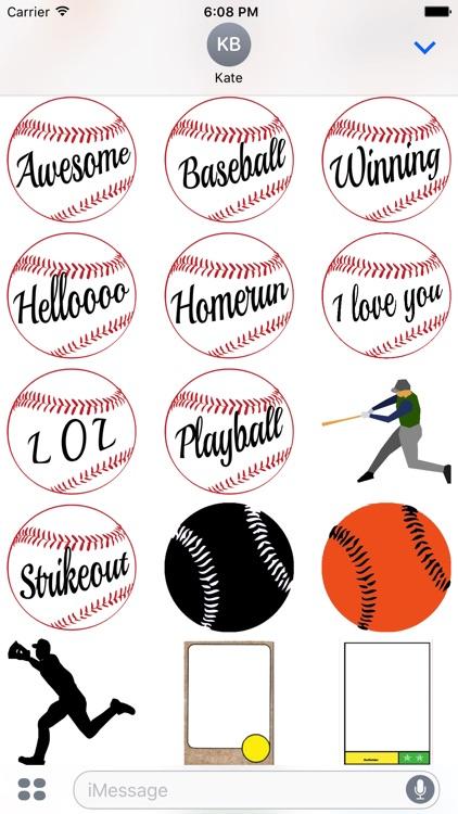 Baseball Sticker Pack Oakland Experience screenshot-3