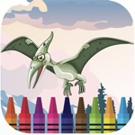 Dinosaur Park Coloring Game