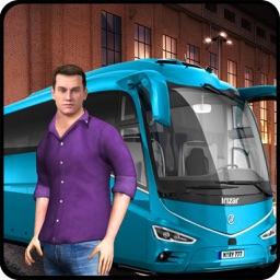 Coach Bus Driver 3d