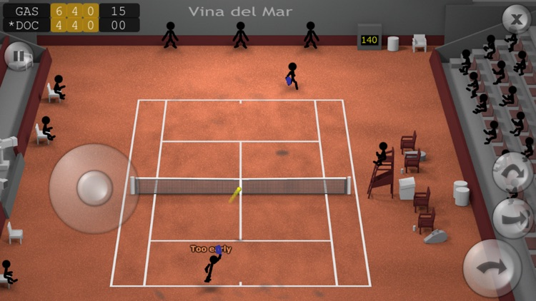 Stickman Tennis screenshot-0