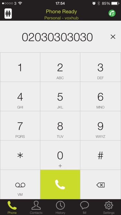 Voxhub iPhone Edition screenshot-3