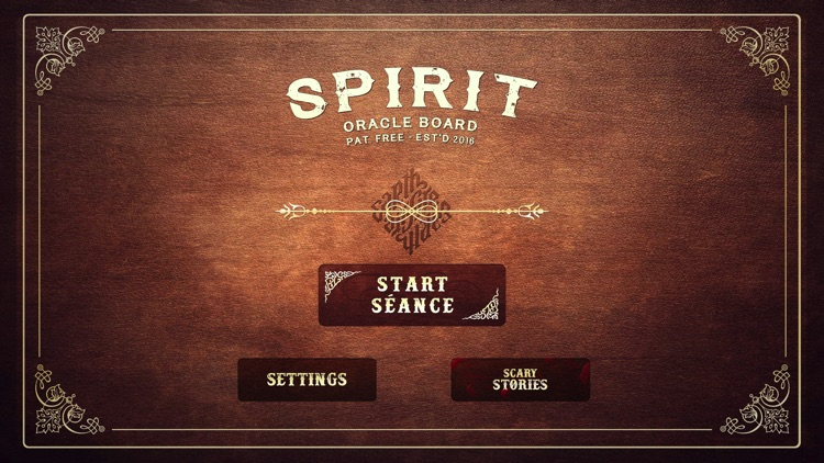 Spirit Board (very scary)