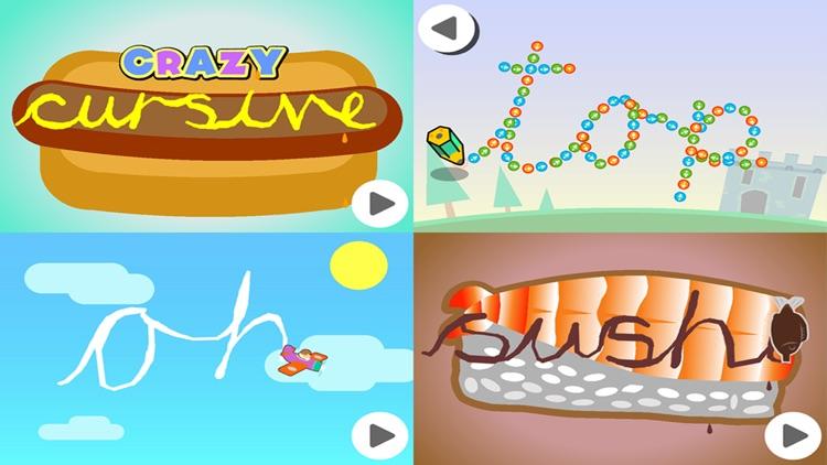 Crazy Cursive Letters screenshot-4