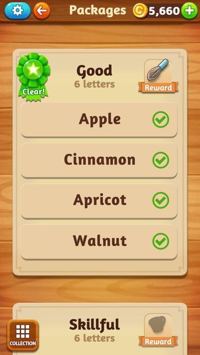 WordCookies Cross screenshot 4