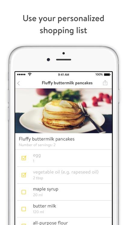 Kitchen Stories - recipes, baking, healthy cooking screenshot-3