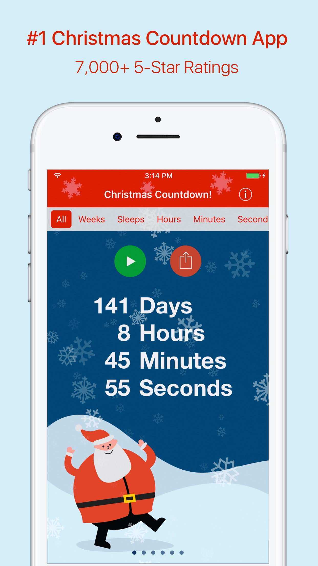 Christmas Countdown! Screenshot