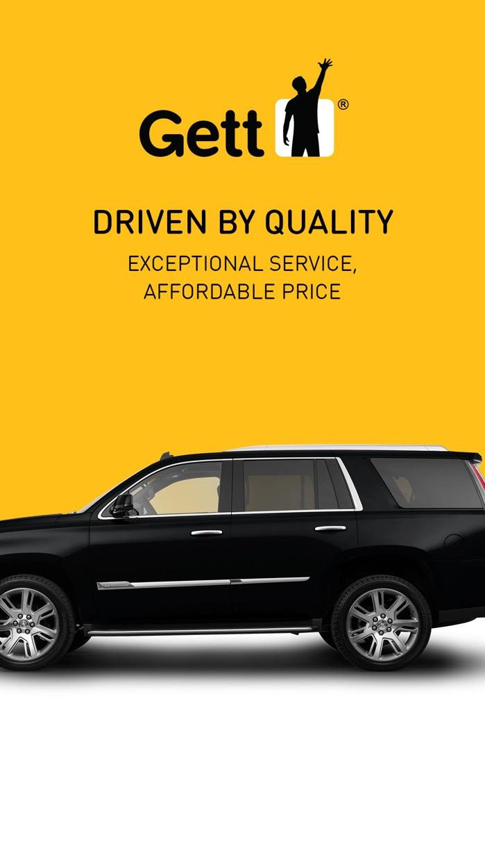Gett - Car Service & Rideshare Screenshot