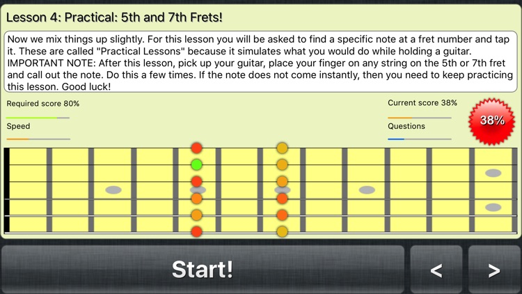 FretWiz: Fretboard Trainer screenshot-2