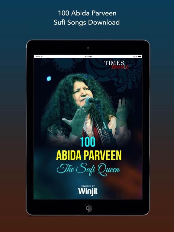 100 Abida Parveen Sufi Songs Ipad 0