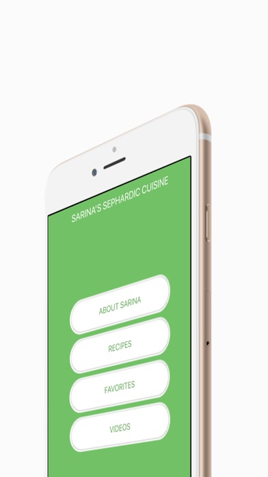 Screenshot for Sarina's Sephardic Cuisine in Azerbaijan App Store