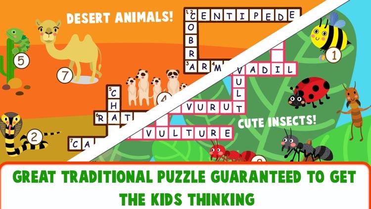 Educational Crossword For Kids screenshot-5
