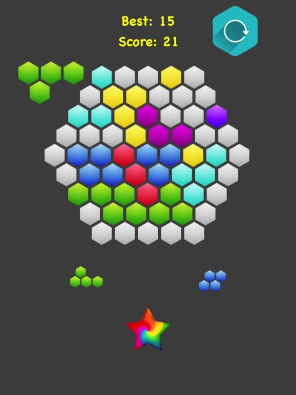 Hexagonal Merge. screenshot 8