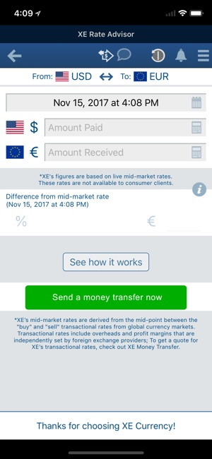 ‎XE Currency on the App Store