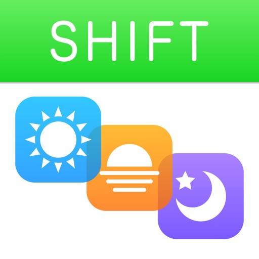 Shift Planning Calendar iOS App