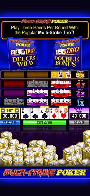 Multi strike poker las vegas petit casino rond point de la lyre