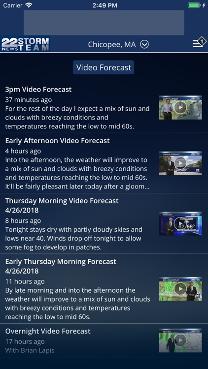 WWLP Weather screenshot-3