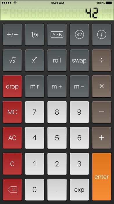 PCalc Lite screenshot three
