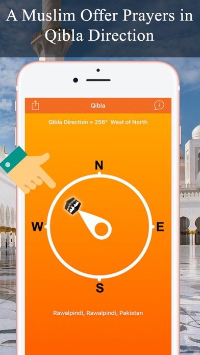 Qibla Compass & Locator Pro screenshot two