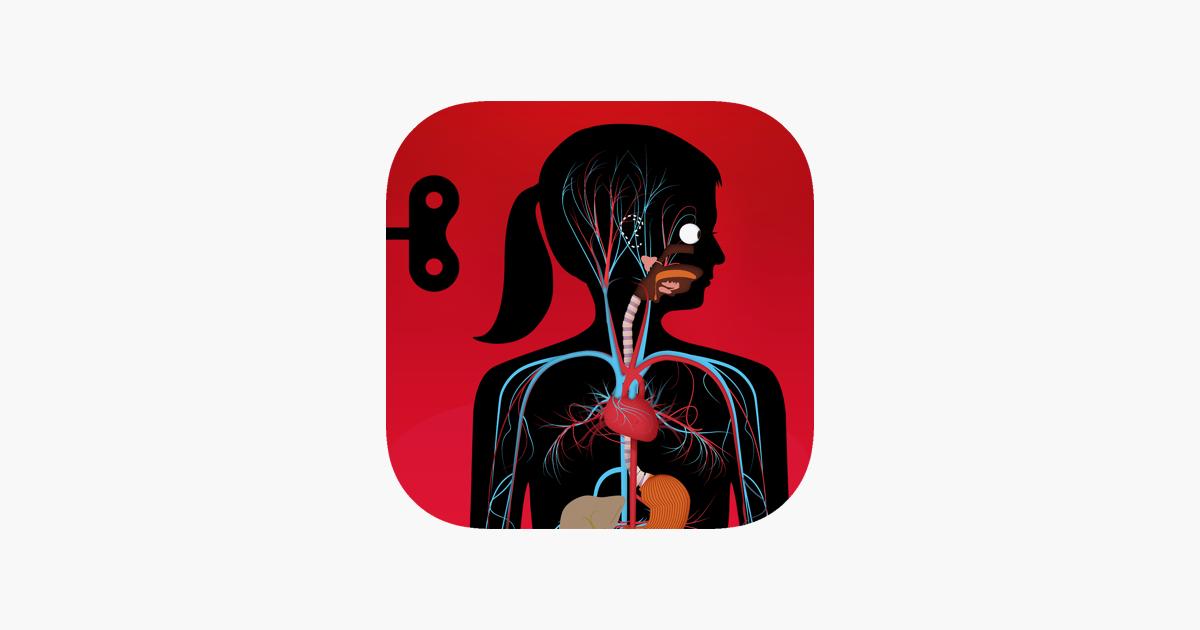 Der menschliche Körper im App Store