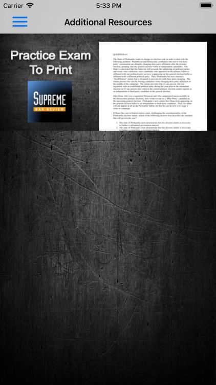 Evidence: Supreme Bar Review screenshot-7