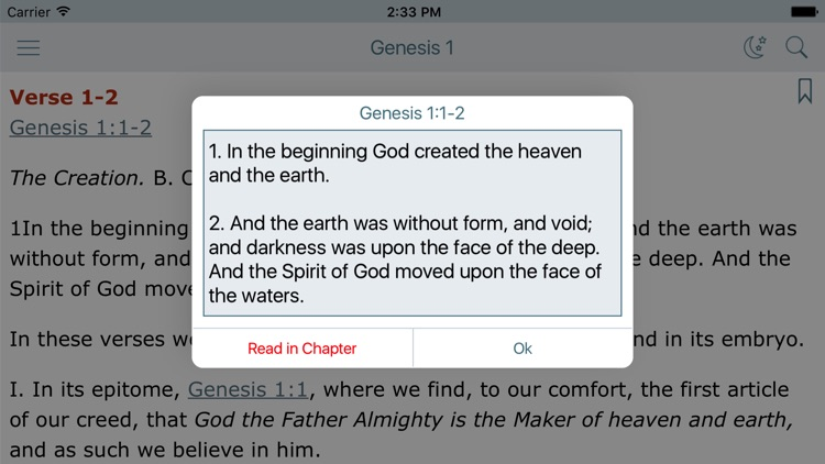 Matthew Henry Bible Commentary screenshot-2