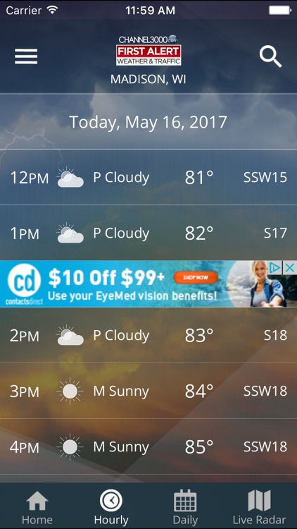 Channel3000 Weather & Traffic screenshot-3