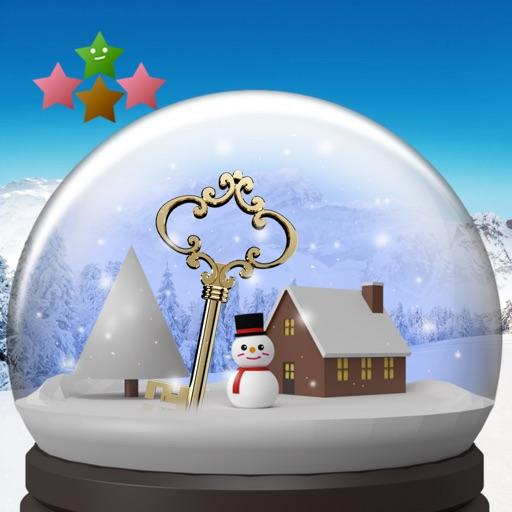 Cнежный глобус и снег
