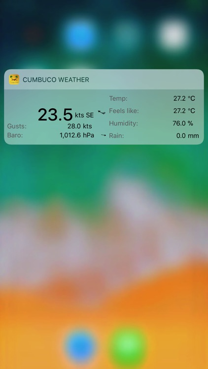 Cumbuco Weather Station screenshot-3