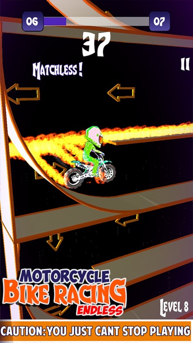 Motorcycle Bike Racing Endless by Black Chilli Games ( Top