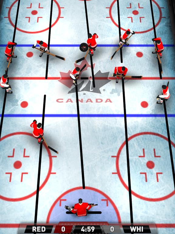 Team Canada Table Hockey на iPad
