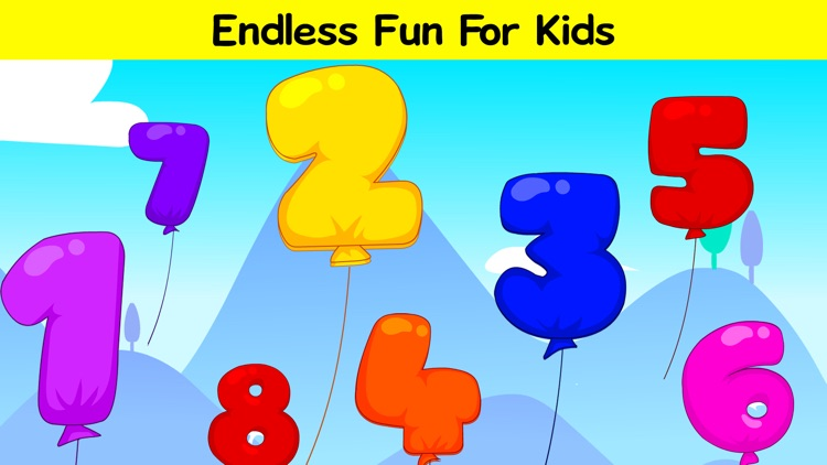 Pop the Balloons - Learn ABC & 123 Numbers screenshot-4