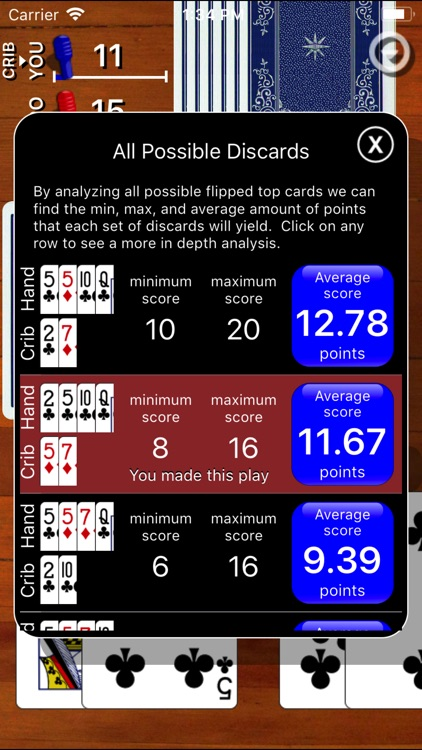 Cribbage Classic screenshot-3