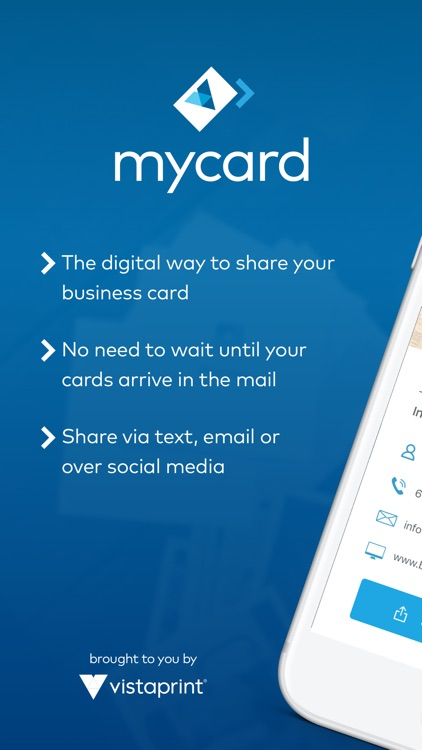 mycard by Vistaprint
