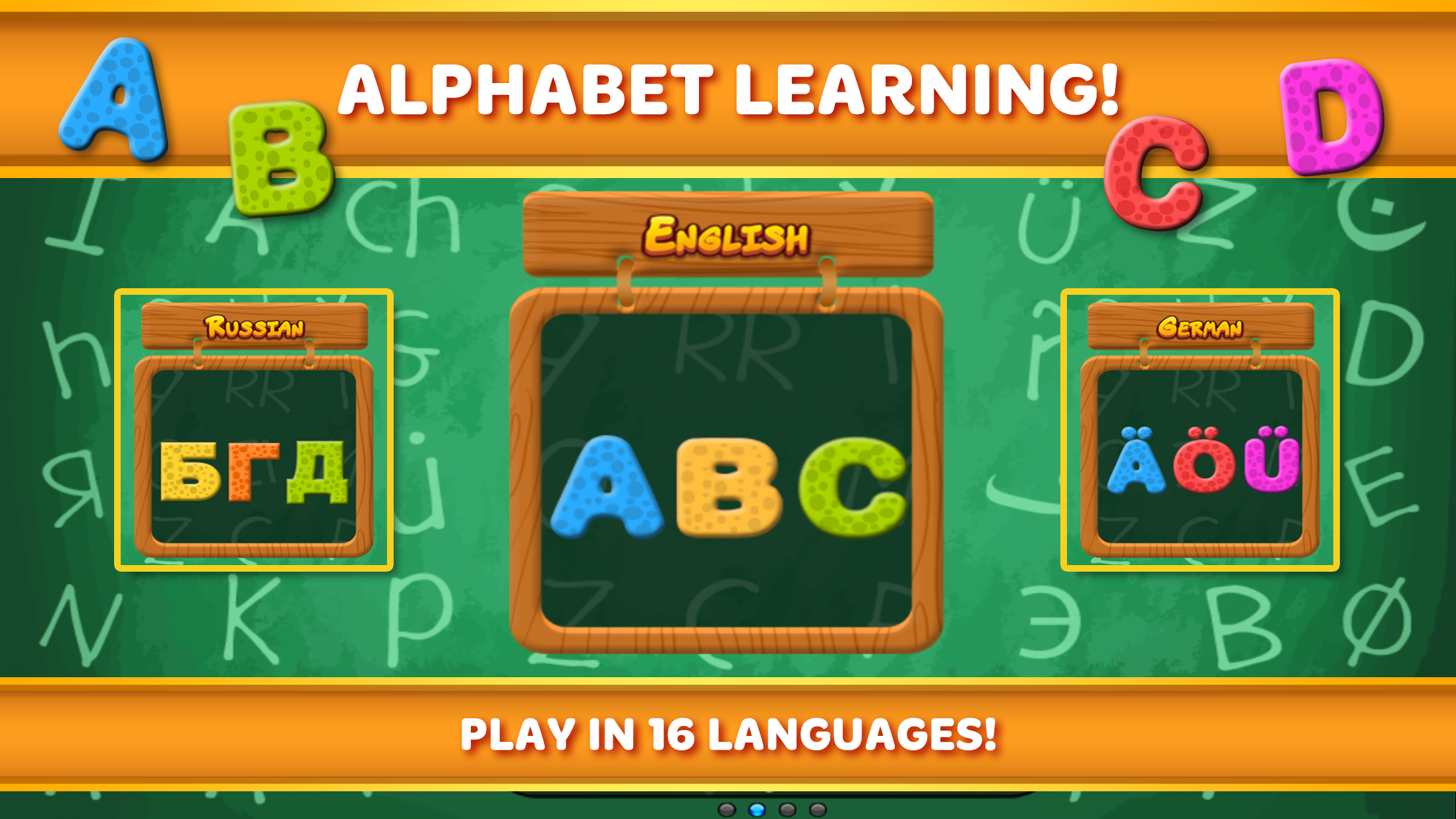 Preschool Games Kids Learning Screenshot
