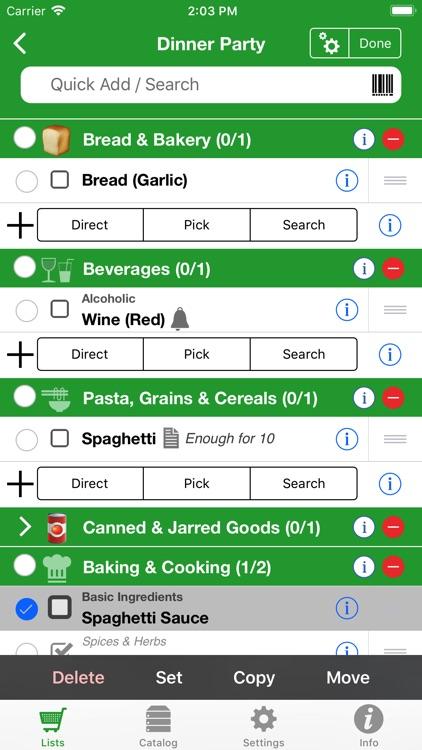 Shopping Pro (Grocery List) screenshot-3