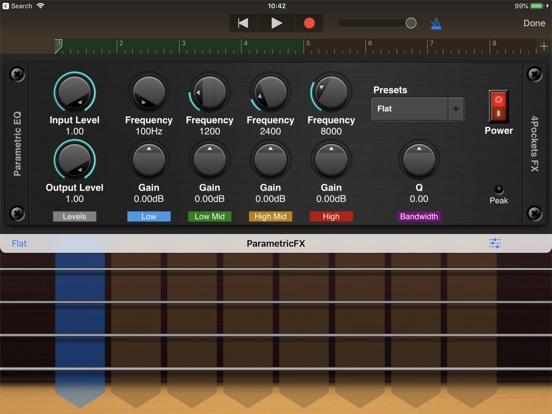 Parametric EQ AUv3 Plugin screenshot 5