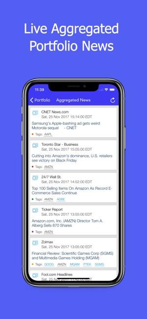 Active Portfolio For Stocks In De App Store