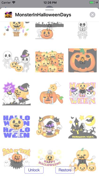 Monster Pumpkin In Halloween screenshot-4