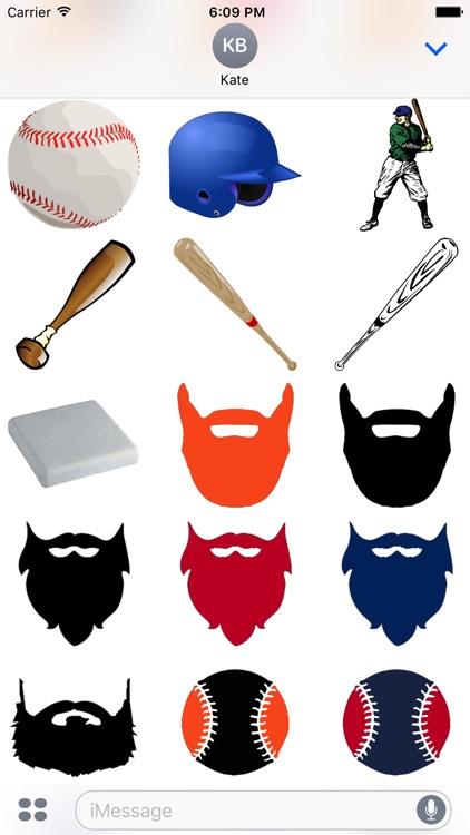 Baseball Sticker Pack Oakland Experience screenshot-4
