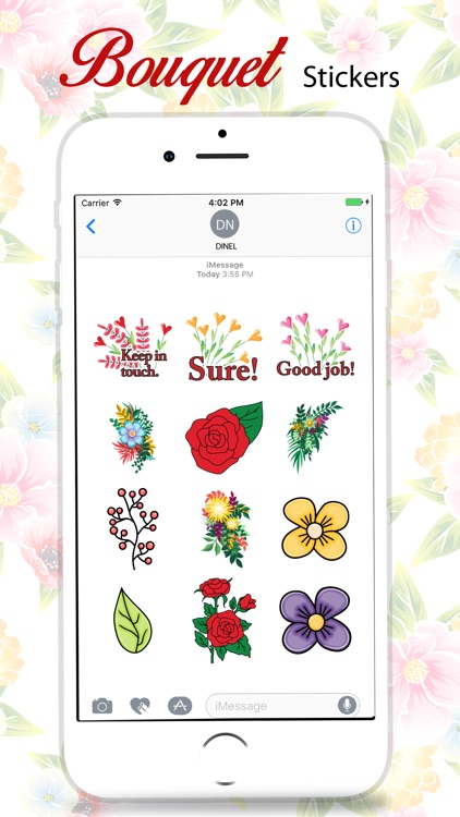 Bouquet Stickers Pack