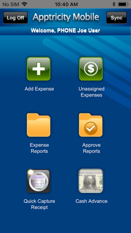 Apptricity Expense 6.0 screenshot-1
