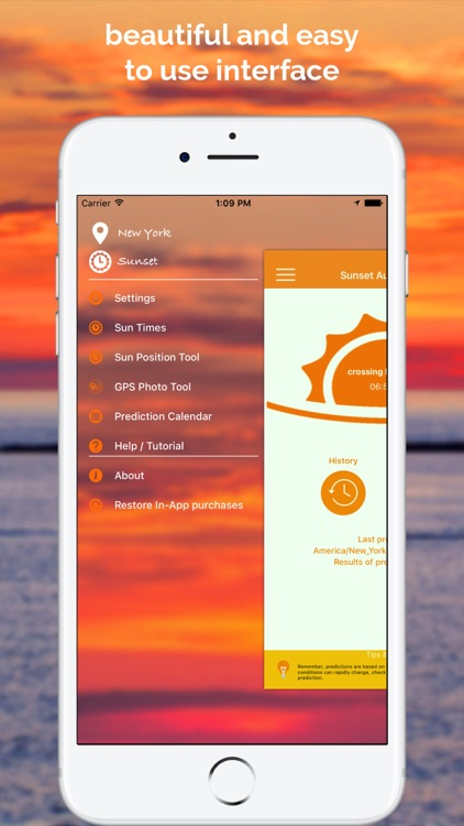 SkyCandy - Sunset Forecast App