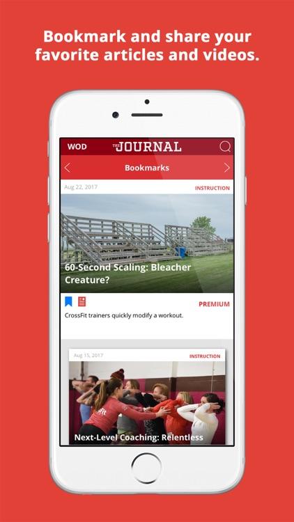 CrossFit Journal screenshot-4