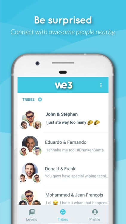 We3: Find Friends, 3 at a Time screenshot-4