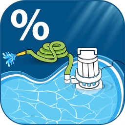 Pool Drain Percent Calculator