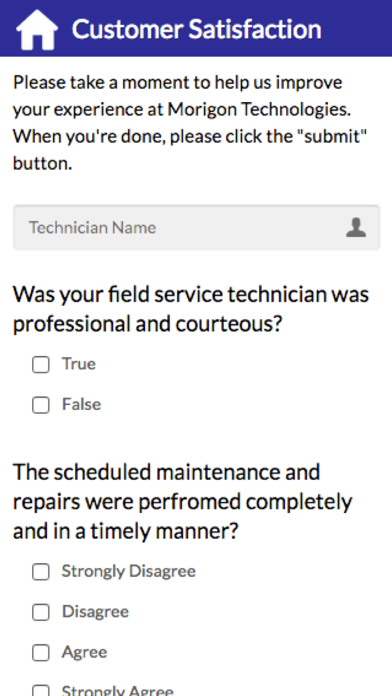 MT Technician Portal screenshot 2