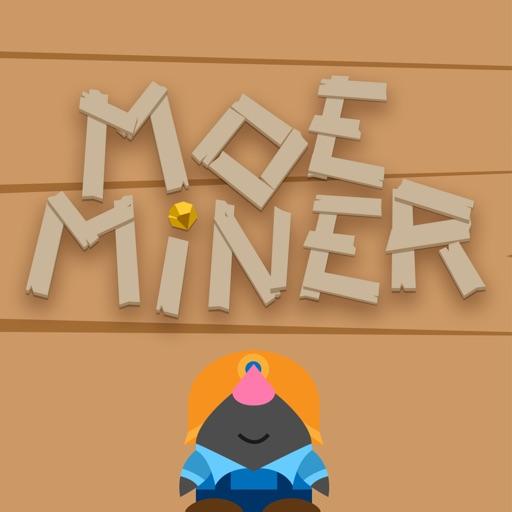 Moe Miner: fun puzzle game.