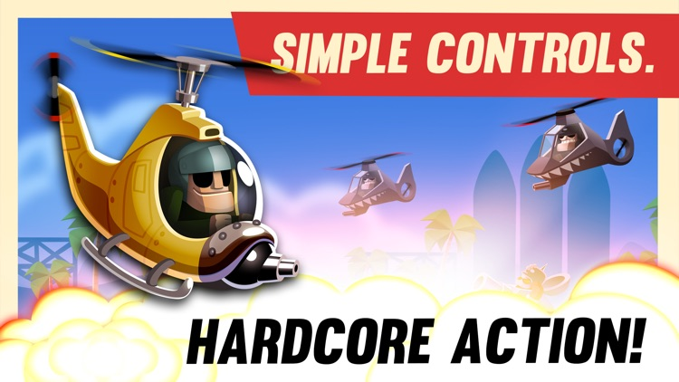 Birds of Glory | War Helicopter Arcade Game